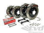 Brembo-GTR Brake Kit (Front 8 piston 380x32mm, Rear 4 piston 345x28mm, slotted discs)
