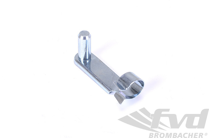 Clutch Cable Clevis Pin - at Pedal Assembly
