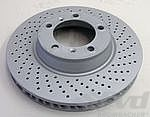 Brake disc front right 996 turbo/C4S,997 S 05- (Ø330mm x 34mm)