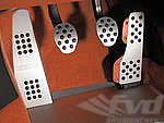 Pedal Set with Rubber Grips, (4 pc)  996/986/997/987/Cayman without extensions