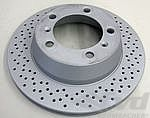 Brake disk rear  987 Boxster 05- /Cayman 06- /981 ( 2,7L + 3,4L)   300x20mm
