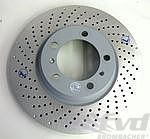 Brake disc front left 996 turbo/C4S,997 S 05- (Ø330mm x 34mm)