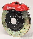Brembo-Sport System GT front, 6-Piston, (405x34mm), drilled discs