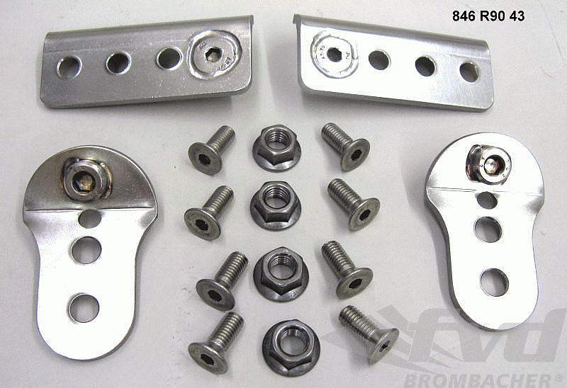 Adapter Kit - for 996 GT3 seats into a 964 / 993