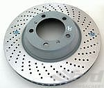 Brake disk front right 997turbo 07-, Ø350x34mm
