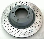 Brake Disk 997TT and GT3 Rear Left Ø350x28mm