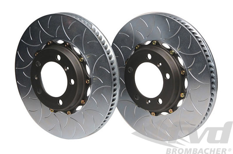 380x34 2-Piece Type III 2-piece floating rotor (Set of 2) Front