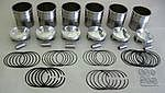 Capricorn Piston & Cylinder Set 4.0 L (105.4mm), 997.1 & 997.2 GT3/RS 13:1