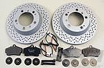 Brake service kit rear Boxster S / Cayman S 06-