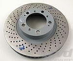 Brake disc T996 GT3  99-01 left Ø330x34mm