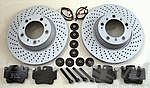 Brake service kit  rear 996Turbo/996C4S