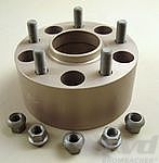 Spacer - 71 mm - Silver - Hub Centric - Sold Individually