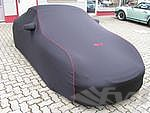 Brombacher Exclusive Cover 996/997,without rear spoiler  black, red stiching incl. bag, with Logo