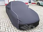 Brombacher Exclusive Cover 996/997 4S without rear spoiler black, white stiching incl. bag, no Logo