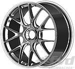 9x19 ET 47 BBS 1-pc. forged Motorsportwheel, silver, with center lock, GT3/GT2 RS 8,1Kg